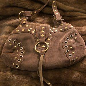 Shea Shea genuine leather suede bag
